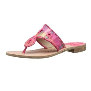 KYRA SANDAL IN MADRAS BY JACK ROGERS